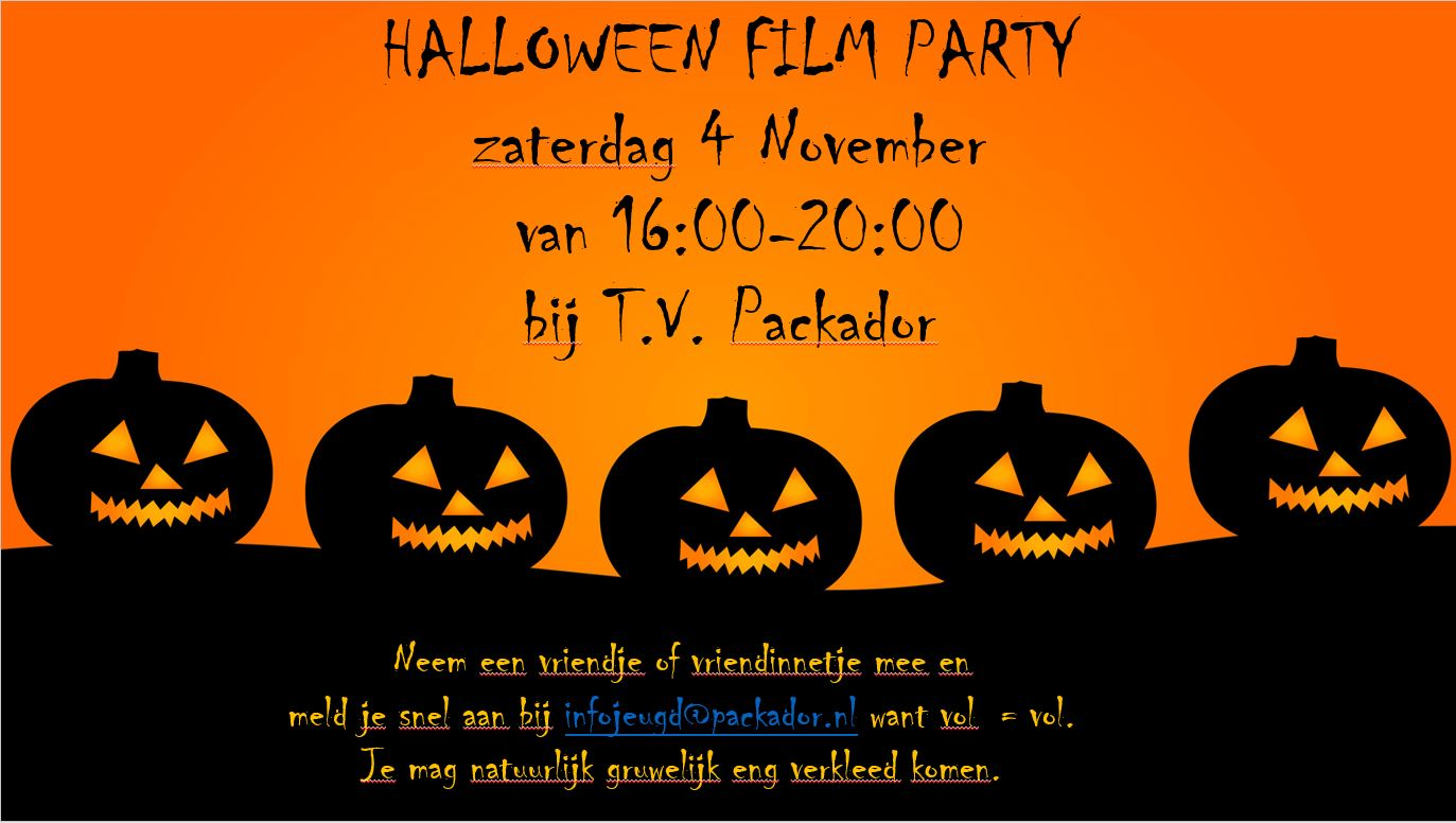halloween film party 2017
